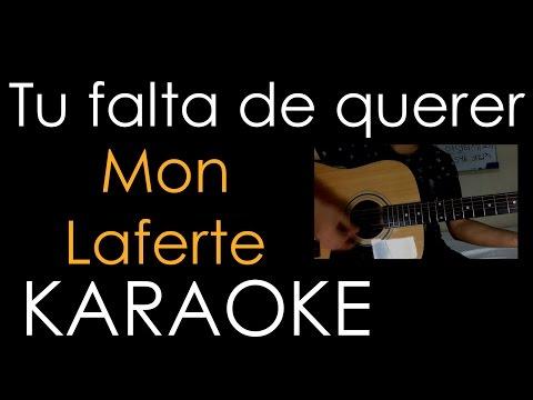 Tu falta de querer- Mon Laferte (Karaoke/ Instrumental-Cover)