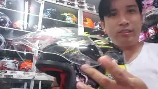 Cara melepas dan memasang kaca helm NHK R6