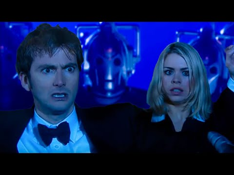 Surrounded By The Cybermen - Rise of the Cybermen - Doctor Who - BBC