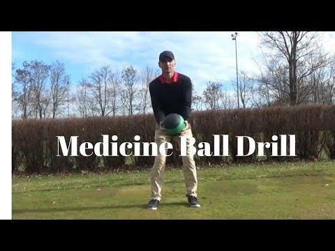 Medicine Ball Drill