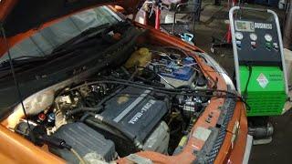 Chevrolet Aveo ремонт кондиционера(, 2015-05-28T19:27:46.000Z)