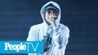 Eminem Releases Surprise Album 'Kamikaze' & Takes Everyone From Trump To Harvey Weinstein | PeopleTV