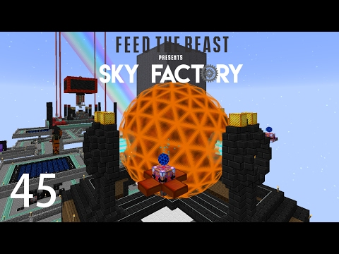 Sky Factory 3 w/ xB - TIER 8 [E45] (Minecraft Modded Sky Block)