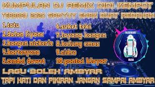 Download Lagu DJ VIRAL TERBARU 2020 santuy enak buat rebahan || DJ REMIX DIDI KEMPOT FULL TERBARU 2020 FULL BASS mp3