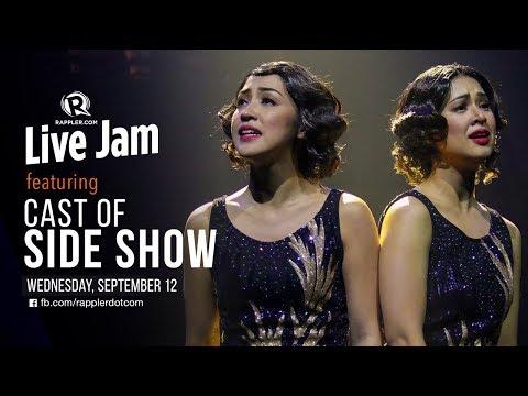 Rappler Live Jam: Cast of 'Side Show'