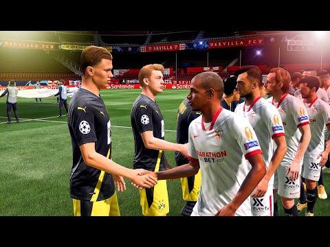 SEVILLA Vs DORTMUND // UEFA CHAMPIONS LEAGUE 20-21 | FIFA 21 Gameplay PC Full HD [1080p60fps]