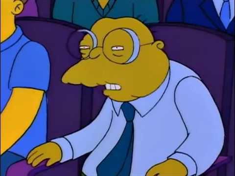 Los Simpsons Hans Topo Yo Decia Buarns Youtube