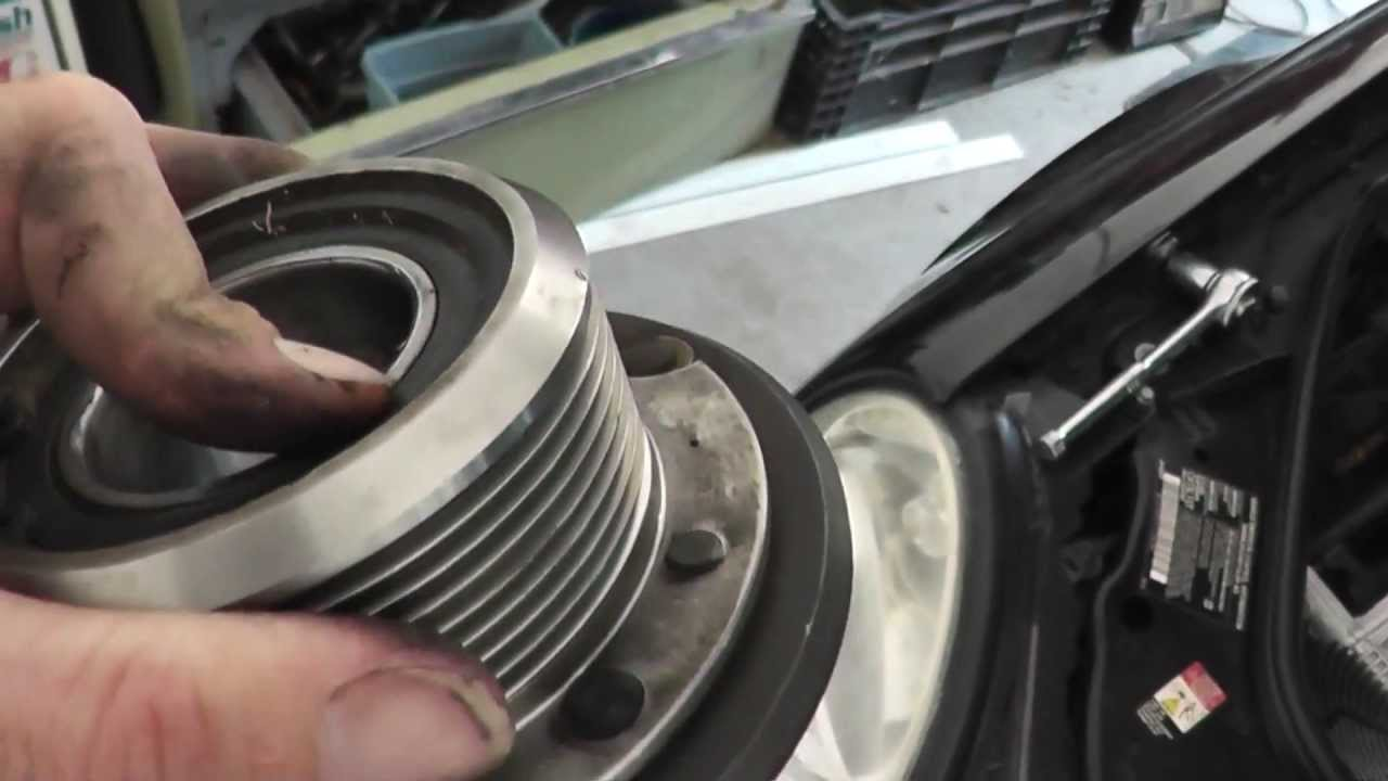 How To Replace Amg Supercharger Bearing E55 Sl55 Cls55