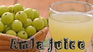 Amla Juice At Home | How to make Amla Juice at home