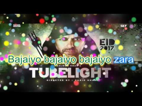 Thumbnail: Tubelight | Salman Khan | Sajan Radio | Karaoke with Lyrics.