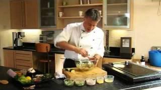 Peter Gorton Thai Chicken Salad Recipe - Filmed At Castles Kitchens
