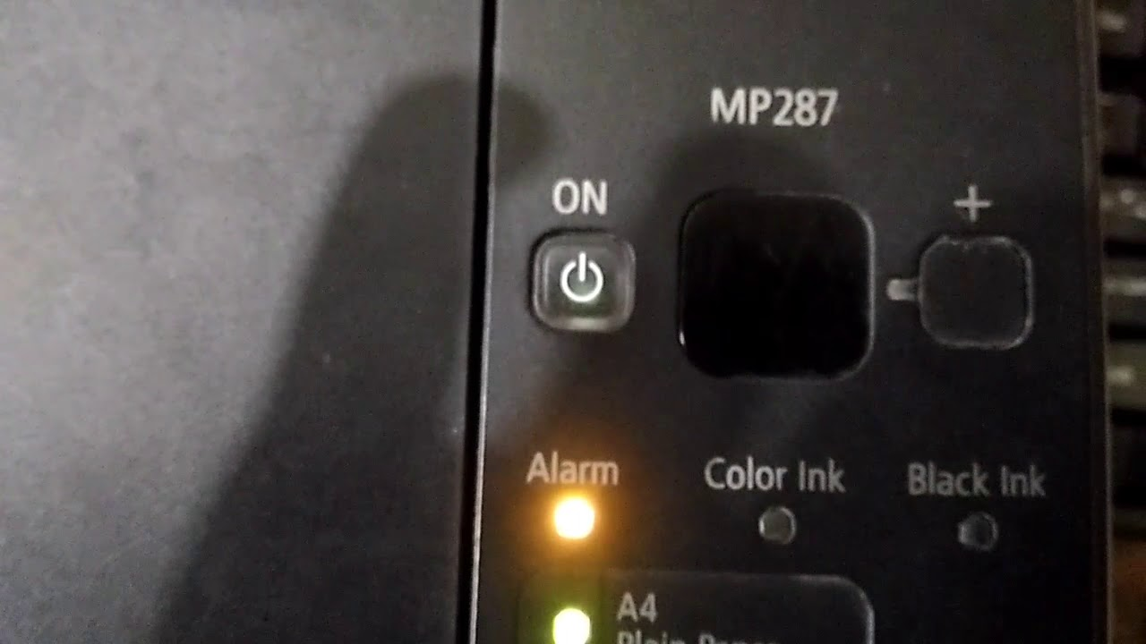 Mengatasi Error E03 Pada Printer Canon Mp287 Youtube