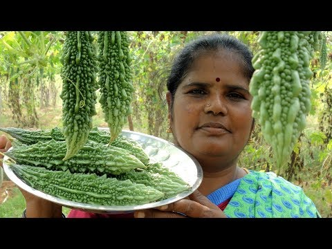 FRAM FRESH Bitter Gourd Sweet Recipe |  Health Benefits of Diabetes | VILLAGE FOOD