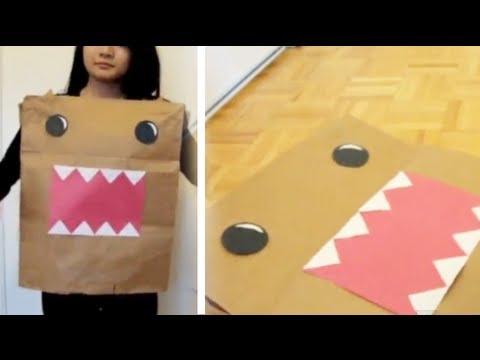 DIY Last Minute Halloween Costume: Domo | Eva Chung