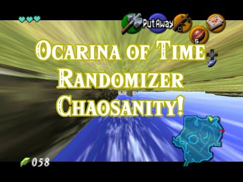 Ocarina Of Time Allsanity Randomizer, But Every 16 Seconds Something RANDOM Happens...!