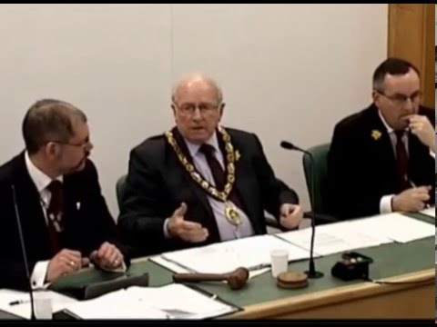 Flintshire council meeting debates member attendance issues (01/03/2016)