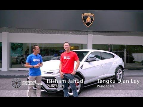 Lamborghini Urus 2019 & Tengku Djan Ley - Roda Pusing Khas