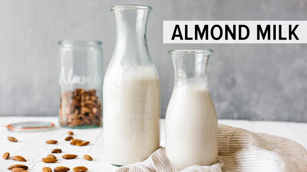 HOW TO MAKE ALMOND MILK   dairy-free, vegan nut milk recipe