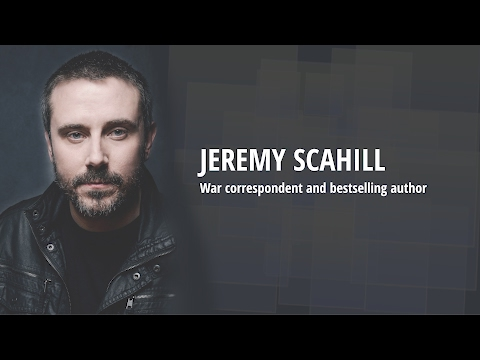 Jeremy Scahill on the Military Industrial Complex, Donald Trump, Ramstein & Anti-War Movements