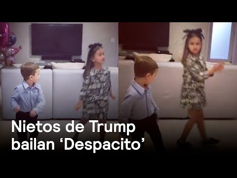 "VIDEO: MIRE, ASÍ BAILAN ""DESPACITO"" LOS NIETOS DE DONALD TRUMP"