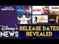 Disney Plus Launch Date Titles