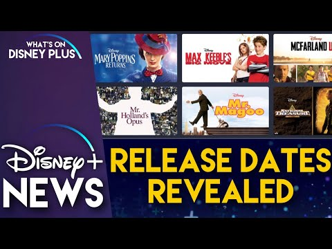 Missing Disney+ Titles Release Dates Revealed | Disney Plus News