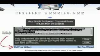 How To Make Money With Widgets! Get The Widget That Pays!