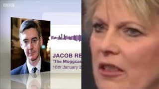 Anna Soubry hates Jacob Rees Mogg popularity