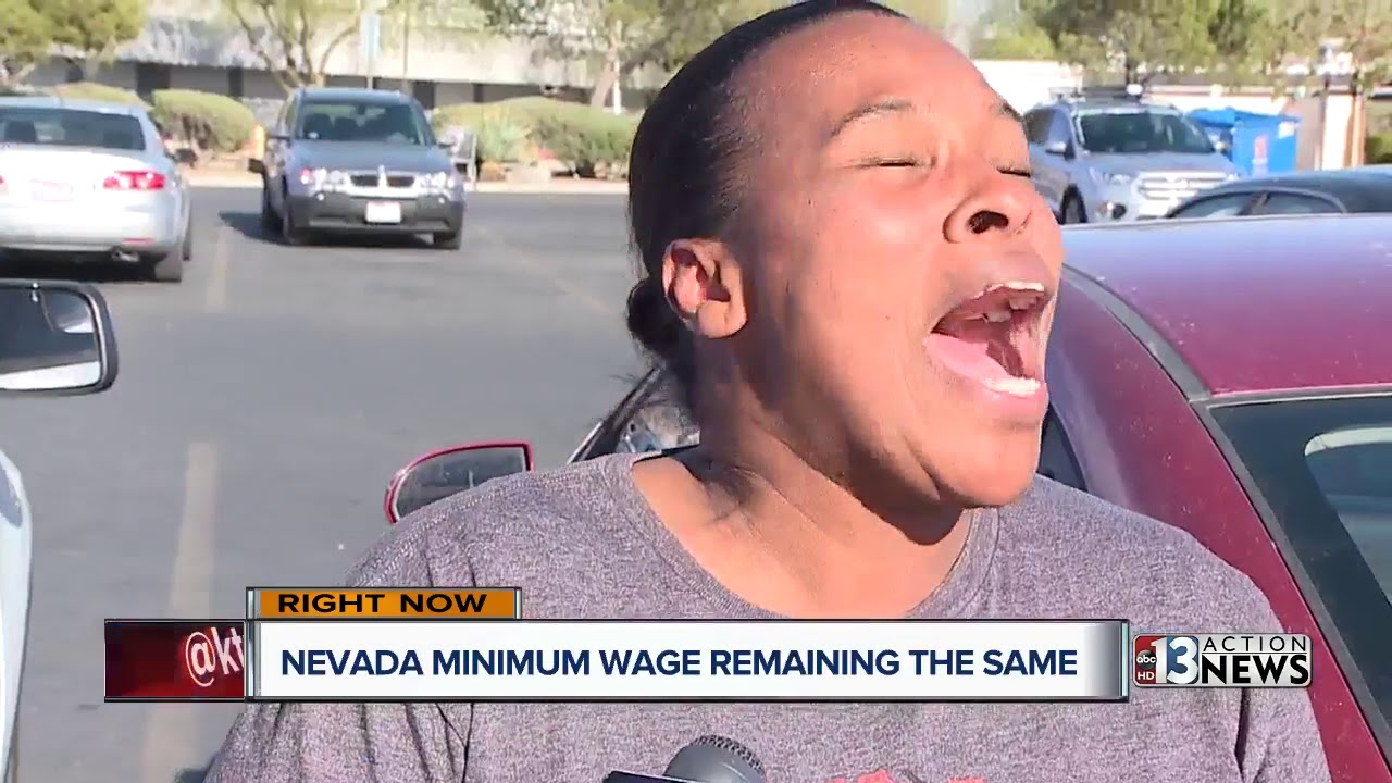 minimum wage rate will not increase in 2018 for nevada workers youtube. Black Bedroom Furniture Sets. Home Design Ideas