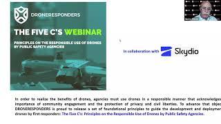 DRONERESPONDERS Five Cs for Public Safety UAS Webinar