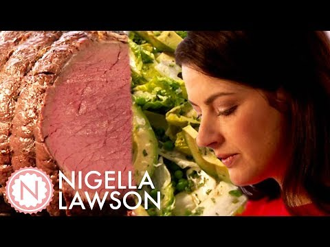 Nigella's Cold Sunday Roast with a Yorkshire Pudding Dessert