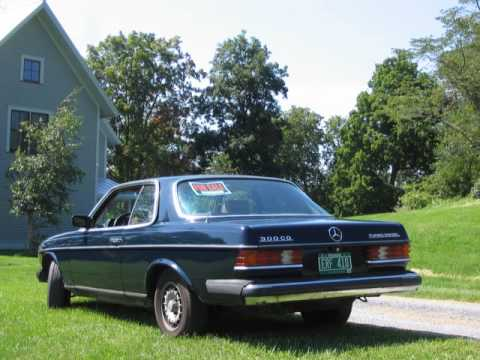 1983 mercedes 300 cd turbo diesel 123 series coupe youtube. Black Bedroom Furniture Sets. Home Design Ideas