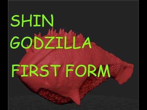 Shin Godzilla First Form - YouTube