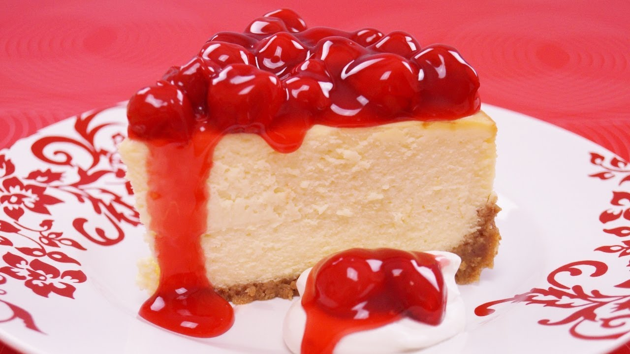 How to Make New York Cheesecake from Scratch - Mom's Cheesecake Recipe ...