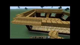 строим дом в майнкрафте iron maan