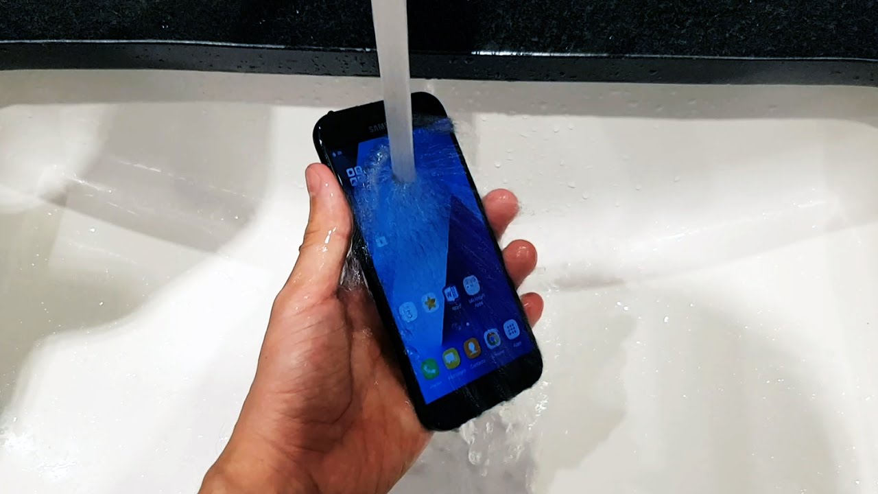 Samsung Galaxy A5 2017 Waterproof Test Youtube