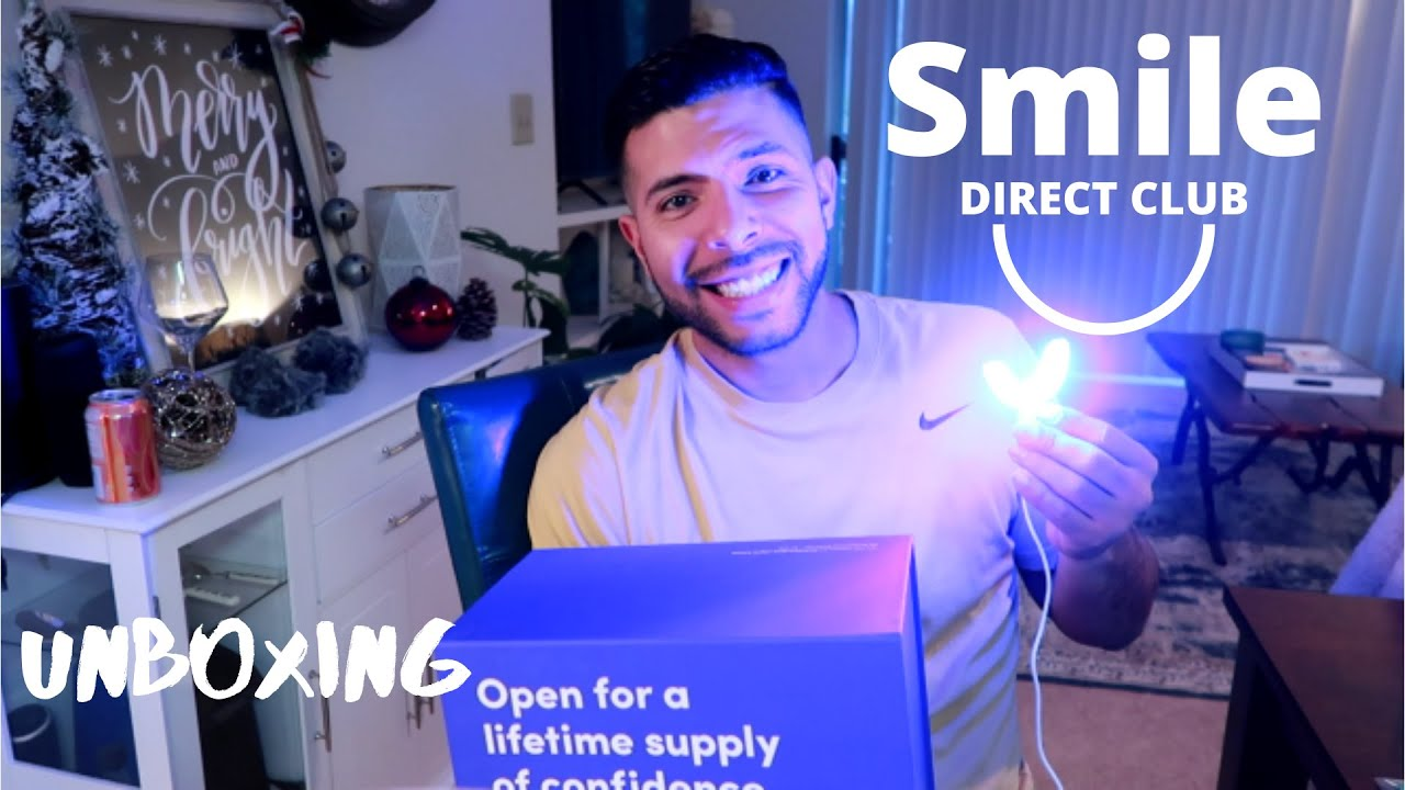 Unboxing And Setup Smile Direct Club  Clear Aligners