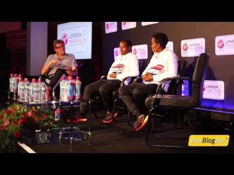 2017 London Marathon Opening Press Conference Part 2