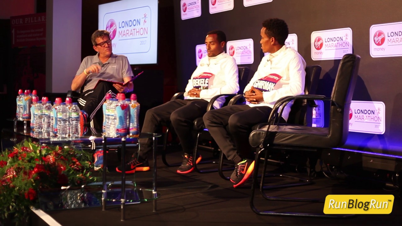2017 London Marathon Opening Press Conference Part 2