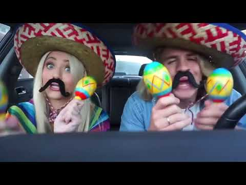 HUSBAND AND WIFE DO FUNNIEST CARPOOL KARAOKE