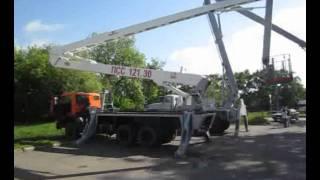 Автовышка ПСС-121.30 - КамАЗ-65115-62(Автовышка ПСС-121.30 (АГП-30.01) предназначен для выполнения строительно-монтажных и электротехнических работ..., 2011-05-27T07:59:02.000Z)