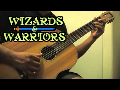 Wizards warriors nes medley on acoustic guitar youtube for Wizards warriors