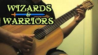 Wizards & Warriors (NES) - Video Game Medley on Acoustic Guitar