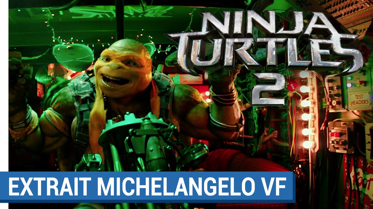 NINJA TURTLES 2 – Michelangelo déchire (VF)