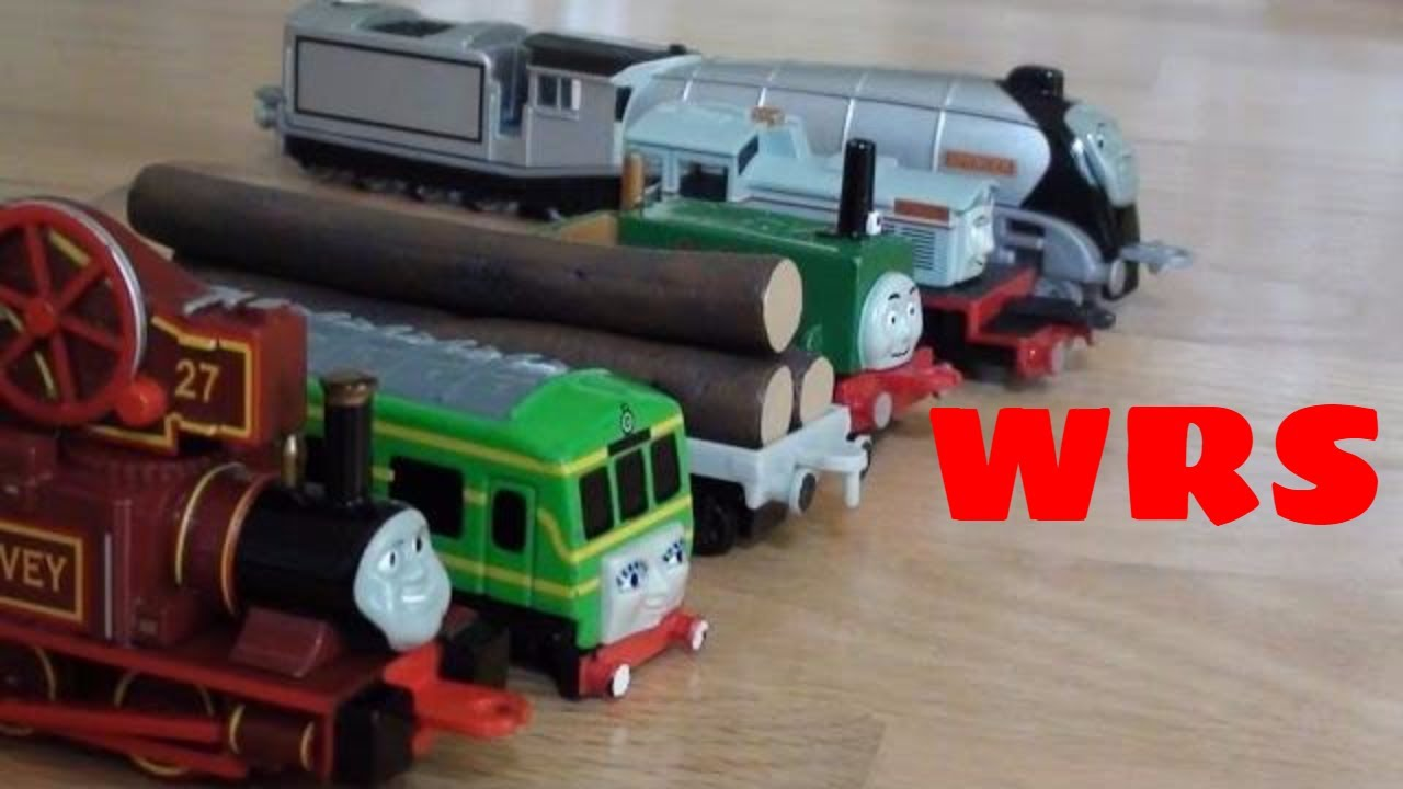 Ertl Thomas Trains Purchase Video Woodenrailwaystudio