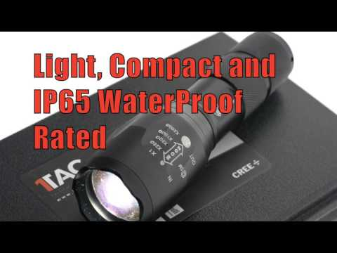 1Tac TC1200 Torch - The BRIGHTEST & MOST Durable Flashlight on the market