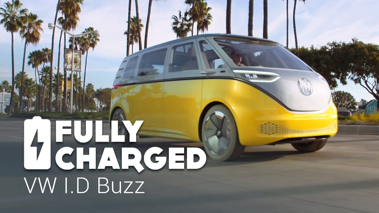 Volkswagen Santa Monica >> VW ID Buzz | Fully Charged - YouTube