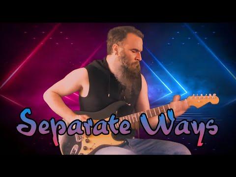 Journey  Separate Ways  Guitar