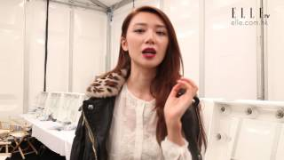 #LFW 專訪:倪晨曦自家化妝護膚心得