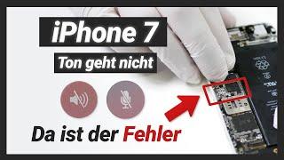 iPhone 7 Mikrofon / Lautsprecher & Ton geht nicht  - Audio IC Reparatur